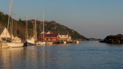 Korshamn mot kveld - Version 3