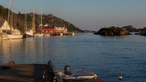 Korshamn mot kveld